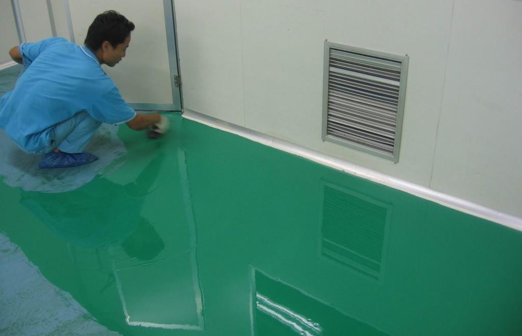 Dịch vụ thi công sơn epoxy nền nhà xưởng chất lượng uy tín tại quận 6