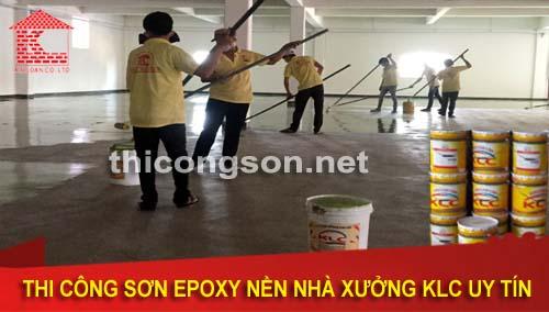 Chuyên thi công sơn epoxy chống cháy uy tín giá tốt nhất hiện nay