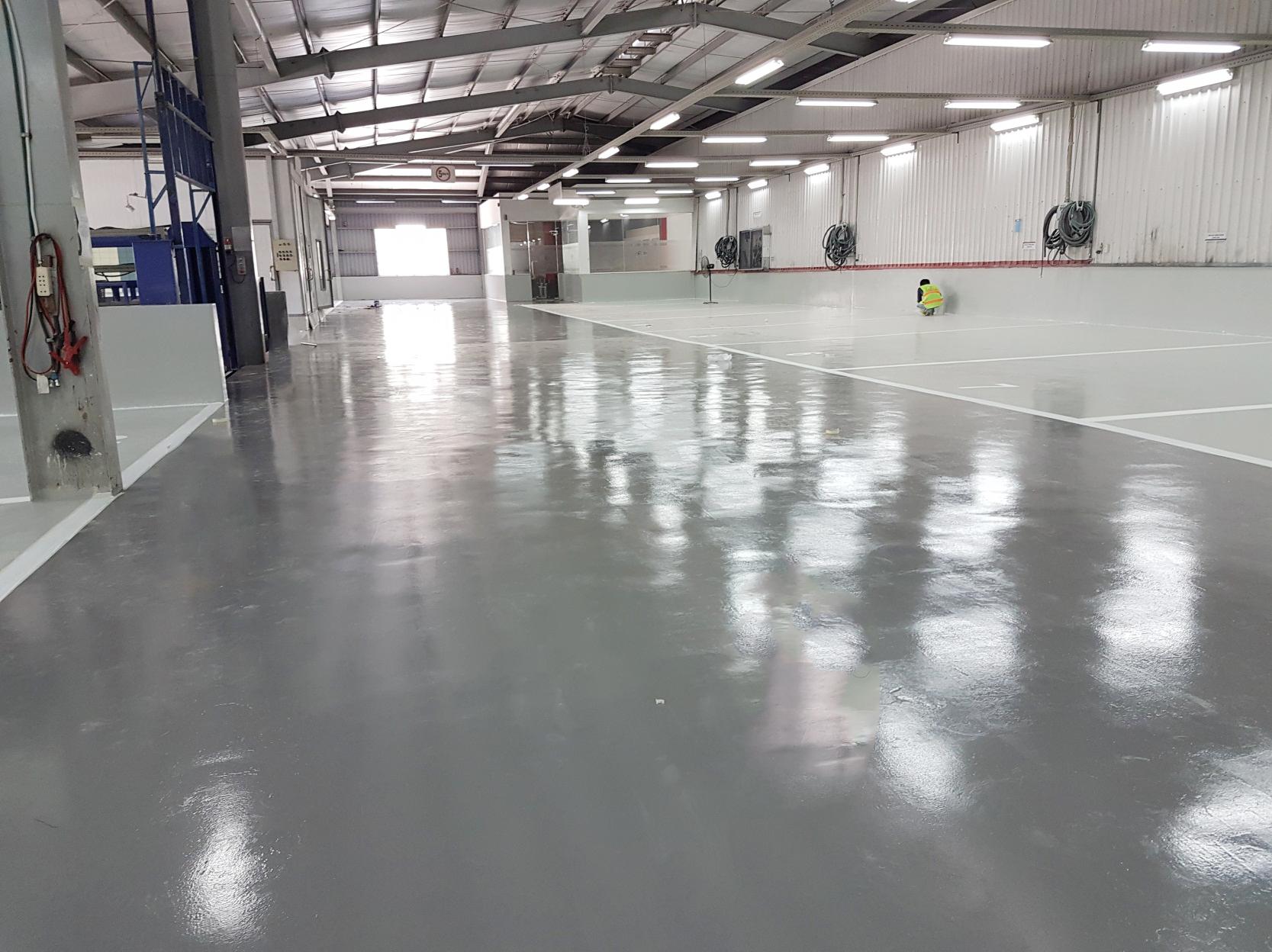 Nguyên lý thi công sơn epoxy chống tĩnh điện với các tính năng vượt trội