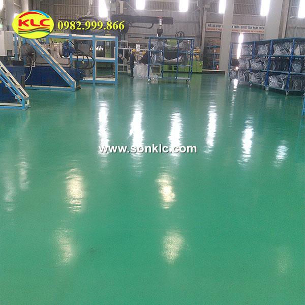 Thi công sơn epoxy chống cháy an toàn đạt hiệu quả cao cho nhà xưởng